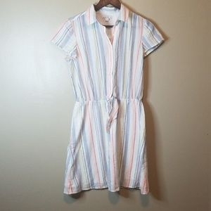 J. Crew Mercantile Striped Dress
